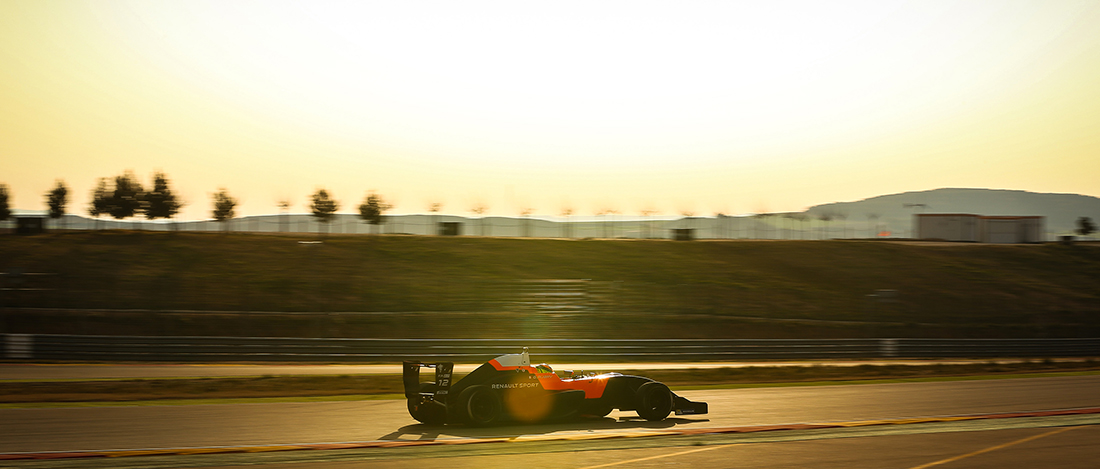 Test hivernal - Gabriel Aubry - Gabi Aubry - Formule Renault 2.0 - Tech1