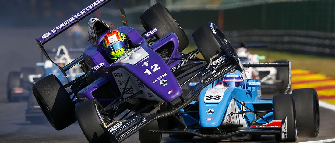 Spa - Belgique - Gabriel Aubry - Gabi Aubry - Formule Renault 2.0 - Tech1 -