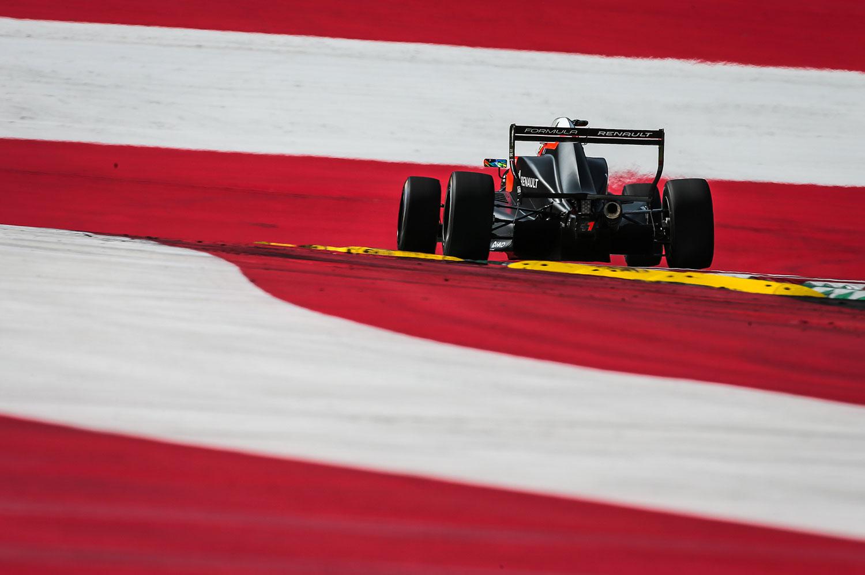 Gabi Aubry - RedBull Ring - Autriche - Formule Renault - Eurocup