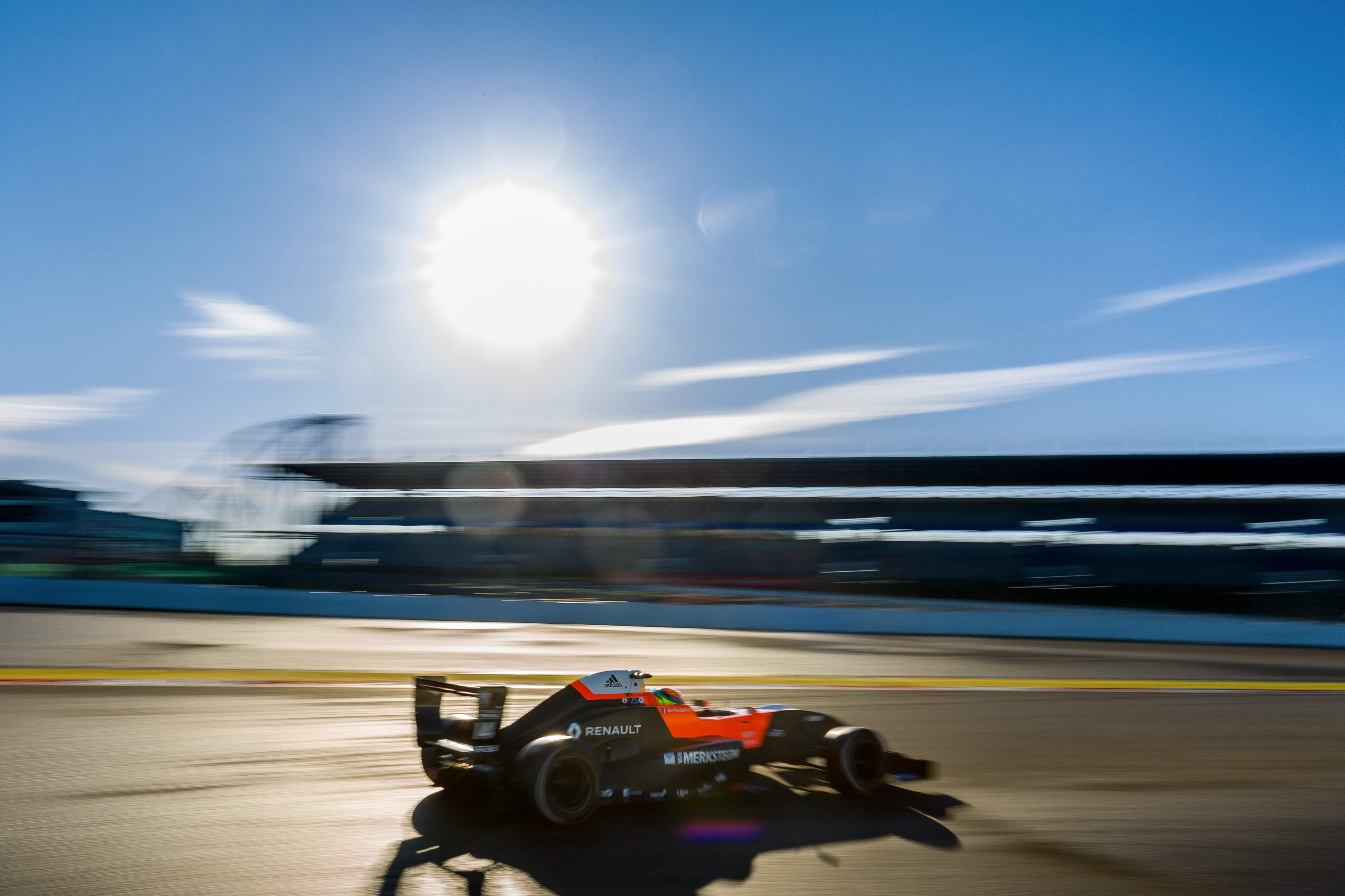 Gabi Aubry - Nurburgring - Allemagne - Formule Renault - NEC