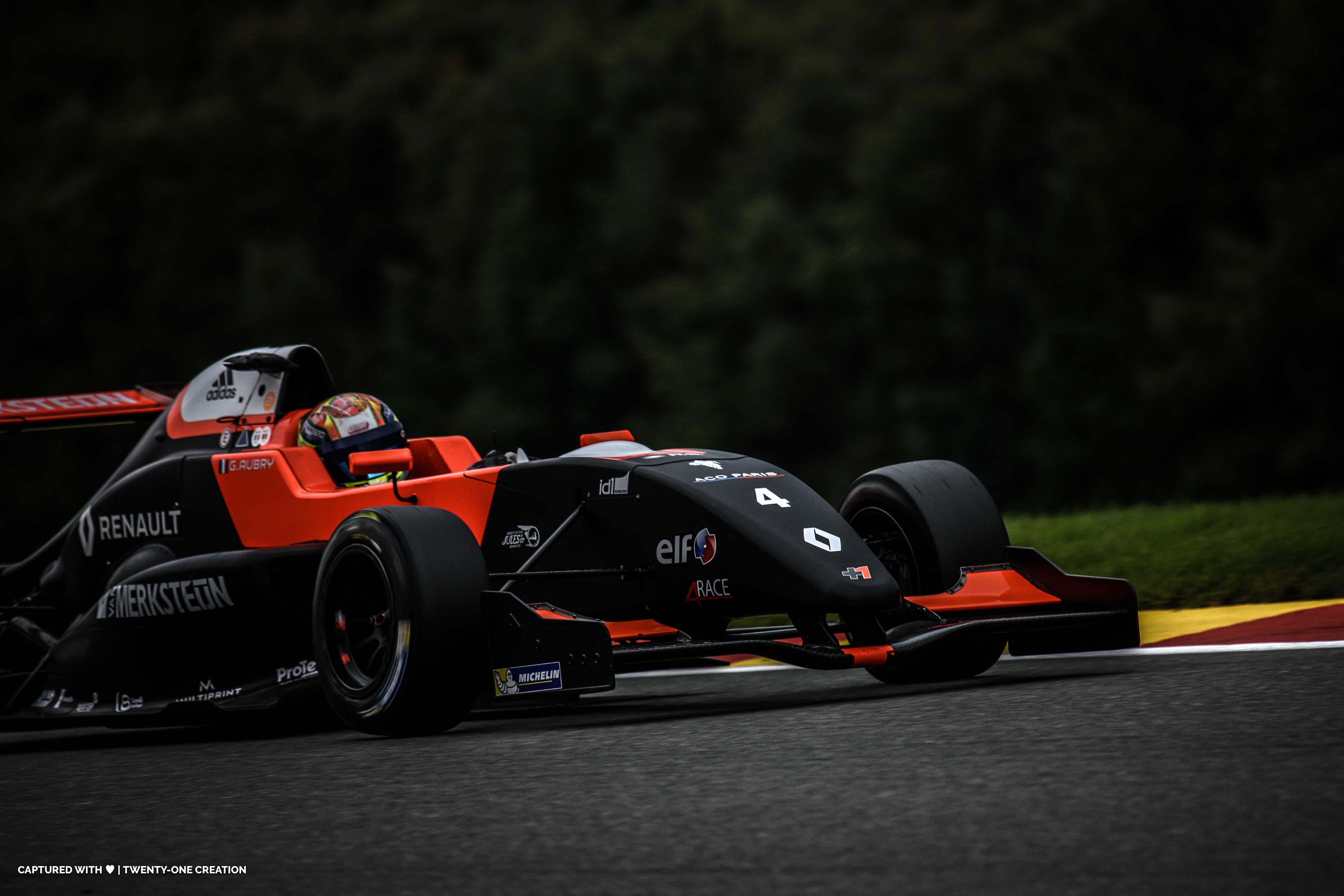 Gabi Aubry - Spa - Belgique - Formule Renault - Eurocup